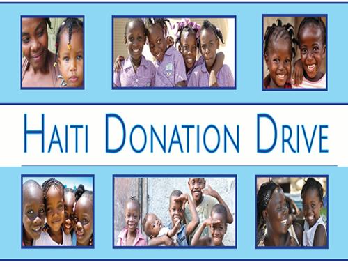 Haiti Donation Drive