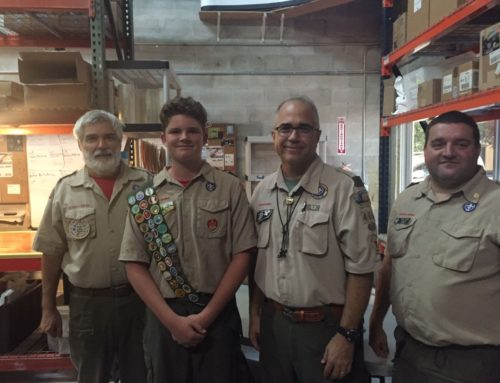 Luca Conner makes Eagle Scout!