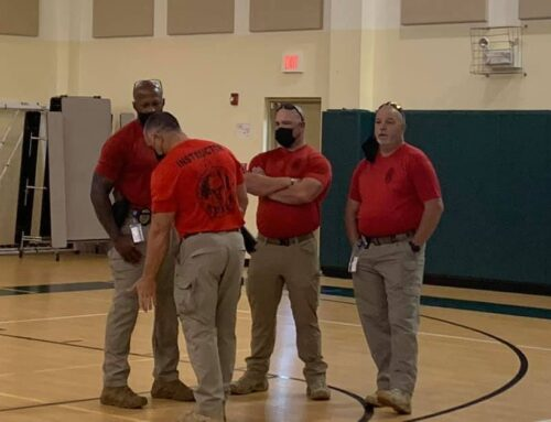 Our teachers had a crisis training conducted by Davie Police last Thursday. Our …